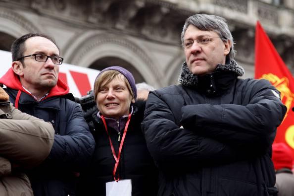 Maurizio Landini (Vittorio Zunino Celotto/Getty Images)