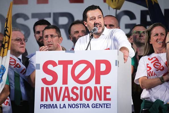 Matteo Salvini (MARCO BERTORELLO/AFP/Getty Images)