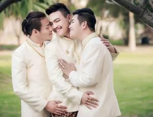 Matrimonio Gay Uomini Thailandia