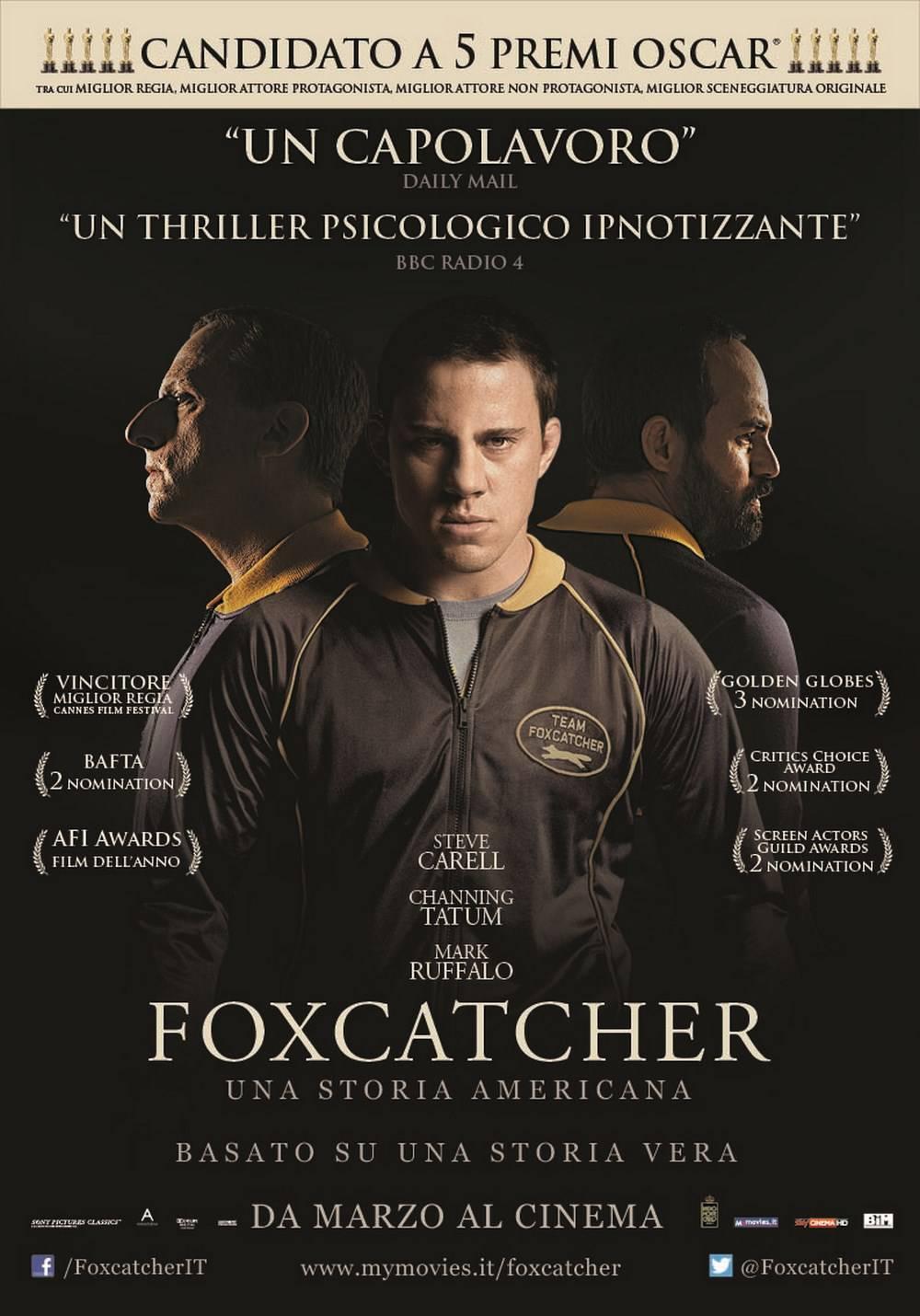 """""""Foxcatcher – Una storia americana"""": recensione"""
