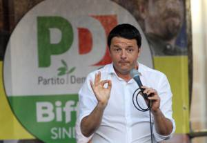 Renzi, Pd (CLAUDIO GIOVANNINI/AFP/Getty Images)