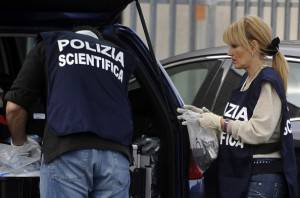 Polizia scientifica (FILIPPO MONTEFORTE/AFP/Getty Images)