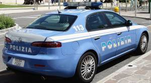 Auto polizia (Vittorio Zunino Celotto/Getty Images)