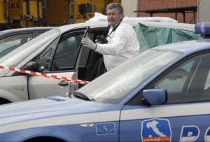 Polizia scientifica (STR/AFP/Getty Images)
