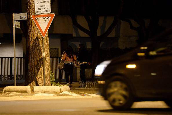 Prostituzione all'Eur (FILIPPO MONTEFORTE/AFP/Getty Images)