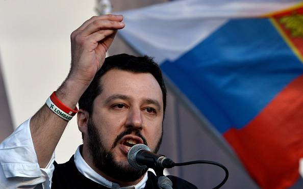 Matteo Salvini (TIZIANA FABI/AFP/Getty Images)