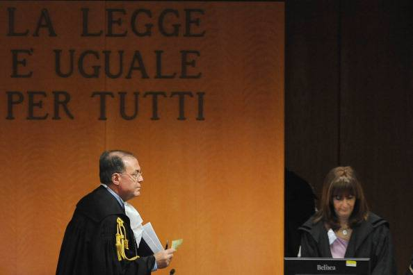 Tribunale (Valerio Pennicino/Getty Images)