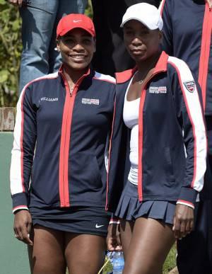 Le sorelle Serena e Venus Williams (getty images)