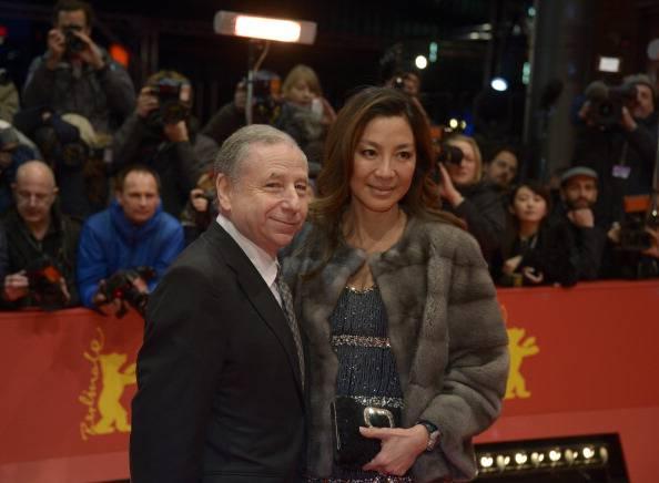 Jean Todt e la moglie (getty images)