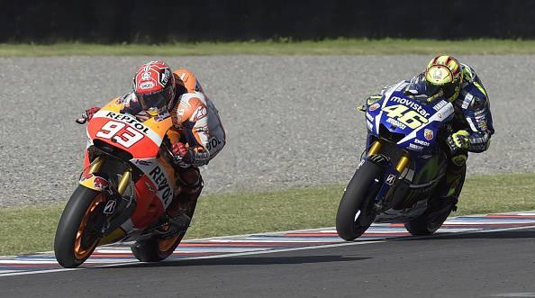 Gp di San Marino, vince Marquez. Cade Lorenzo e Rossi vola in classifica