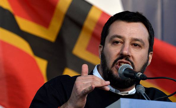 Matteo Salvini (TIZIANA FABI/AFP/Getty Images)