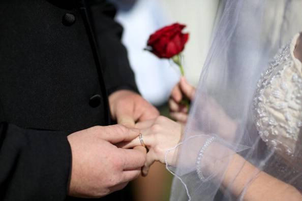 Matrimonio (Joe Raedle/Getty Images)