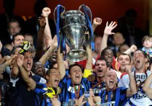 L'Inter vince la Champions League del 2010 (Photo credit should read CHRISTOPHE SIMON/AFP/Getty Images)