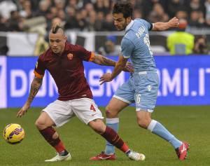 Roma-Lazio (Photo credit should read ANDREAS SOLARO/AFP/Getty Images)