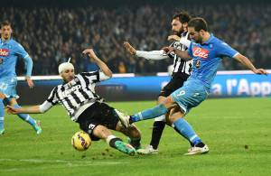 Napoli-Juventus (Photo by Giuseppe Bellini/Getty Images)