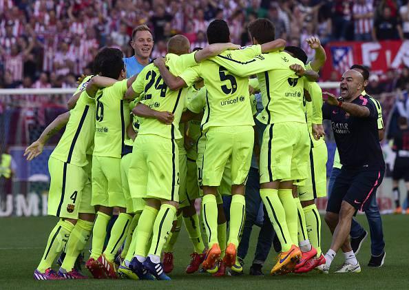 Barcellona (Photo credit should read GERARD JULIEN/AFP/Getty Images)