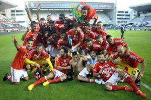 Benfica (Photo credit should read MIGUEL RIOPA/AFP/Getty Images)