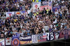 Fiorentina        (Photo credit should read CRISTINA QUICLER/AFP/Getty Images)