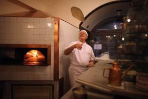 Pizzaiolo al lavoro (Christopher Furlong/Getty Images)