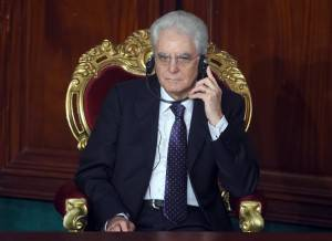 Mattarella (Photo credit should read FETHI BELAID/AFP/Getty Images)