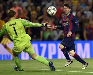 Messi(Photo credit should read LLUIS GENE/AFP/Getty Images)