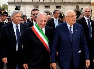 Vincenzo De Luca con Napolitano (foto presidenza della Repubblica)