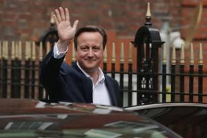 Elezioni UK Cameron Conservatori Laburisti