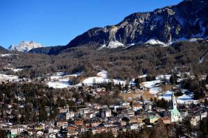 Cortina d'Ampezzo (ALBERTO PIZZOLI/AFP/Getty Images)