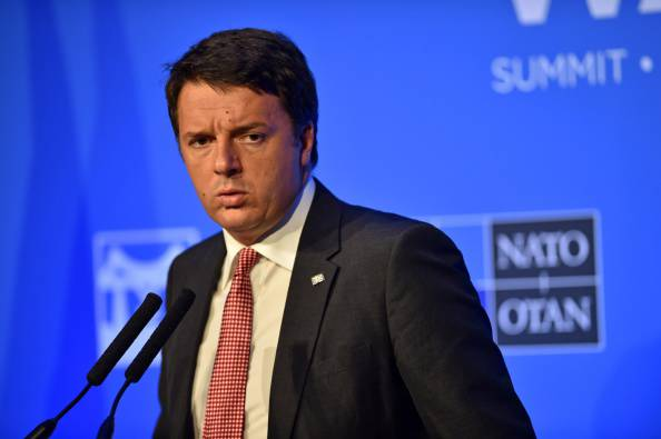 Matteo Renzi (LEON NEAL/AFP/Getty Images)