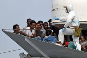 Migranti UE Italia QUote