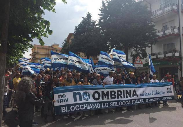 50mila a Lanciano contro lo Sblocca Italia di Renzi