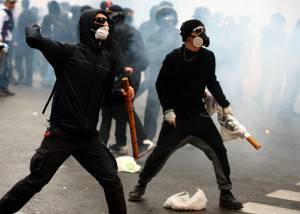 Violenza No Expo (FILIPPO MONTEFORTE/AFP/Getty Images)