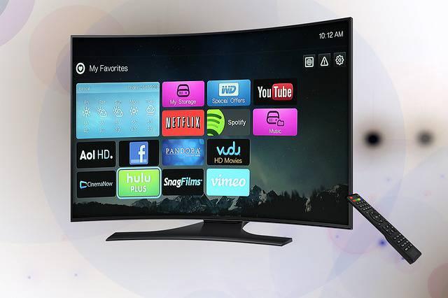 La Tv del futuro sarà un poster