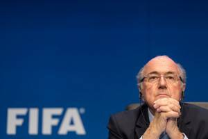 Joseph S. Blatter (Photo by Alessandro Della Bella/Getty Images)