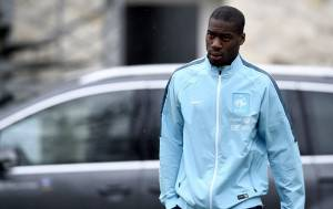 Geoffrey Kondogbia.  (Photo credit should read FRANCK FIFE/AFP/Getty Images)