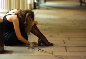 Una donna ubriaca (Matt Cardy/Getty Images)