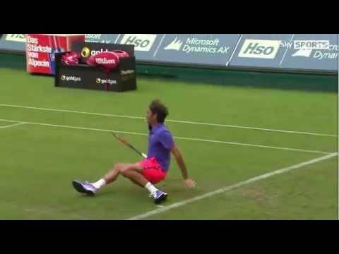 Federer, l'ultima magia: guardate cosa fa – VIDEO