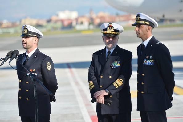 """Il marò Latorre: """"Un italiano non può mollare"""""""
