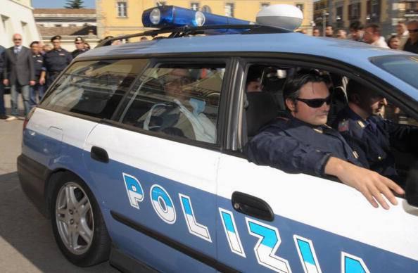 Polizia in azione (NUNZIO MARI/AFP/Getty Images)