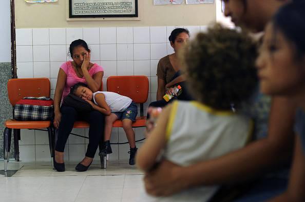 Prevenzione contro la peste (ORLANDO SIERRA/AFP/Getty Images)