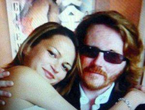 Gabriela Sabova col marito (foto dal web)