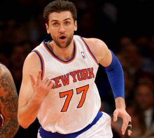 Andrea Bargnani (Photo by Elsa/Getty Images)
