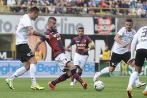 Bologna-Spezia dell'ultimo campionato di Serie B (Getty Images)