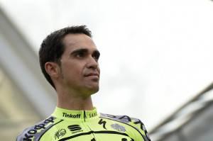 Alberto Contador (Photo credit should read LIONEL BONAVENTURE/AFP/Getty Images)