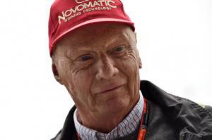 Niki Lauda (Photo credit should read ANDREJ ISAKOVIC/AFP/Getty Images)