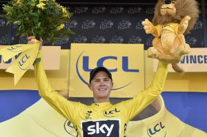 Christopher Froome (Photo credit should read ERIC FEFERBERG/AFP/Getty Images)