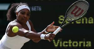 Serena Williams     (Photo credit should read JUSTIN TALLIS/AFP/Getty Images)