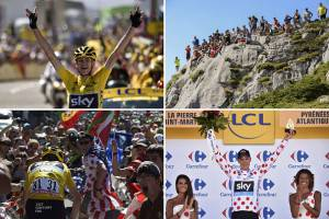Chris Froome (Photo credit should read ERIC FEFERBERG,JEFF PACHOUD,LIONEL BONAVENTURE/AFP/Getty Images)