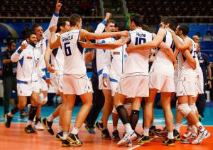 Italia (Photo by Alexandre Schneider/Getty Images for FIVB)