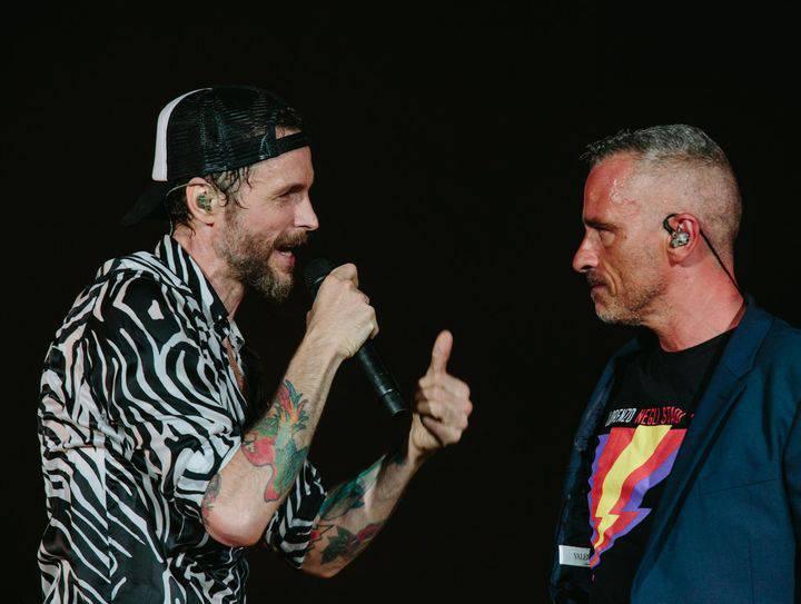 Jovanotti e Ramazzotti al San Paolo /(Foto dal web)